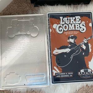 Vintage Luke combs signs